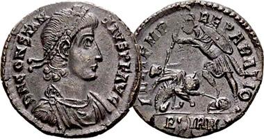 Coin Value: Ancient Rome Constantius II Fel Temp Reparatio Follis