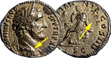 Coin Value: Ancient Rome Antoninus Pius Dupondius with WRL