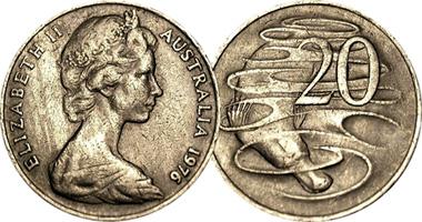 1970 australian 20 cent coin value