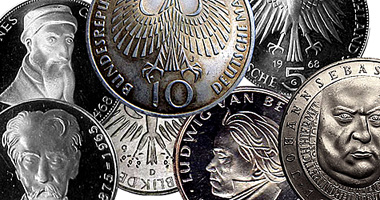 Coin Value: Germany (West) Commemorative 5 and 10 Mark 1952