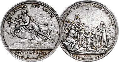 Coin Value: Germany (Brandenburg-Prussia) Treaty of Paris 1814