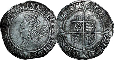 Coin Value: Great Britain Hammered Coinage (Elizabeth I) 1558 to 1603