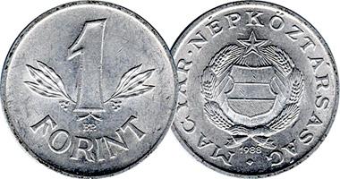 Hungary 1 Forint 1946 To 1989