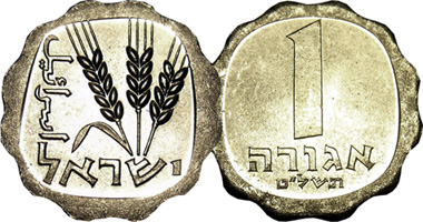 Israeli Coin Values July 2020