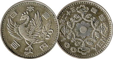 An 100 Yen 1957 And 1958