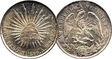 Mexico Peso 1898 To 1909