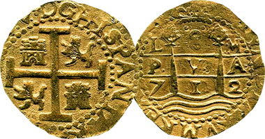 Peru 2 4 And 8 Escudos Fakes Are Possible 1696 To 1750