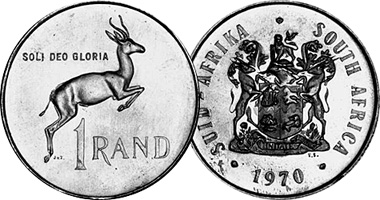 Afrika value suid coin South Africa