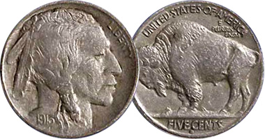 Coin Value Us Indian Head Or Buffalo Nickel 1913 To 1938