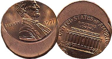 Coin Value: US Off-Center (Offset) Error