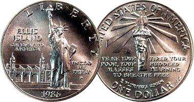 Coin Value: US Ellis Island Dollar (Counterfeit) 1906