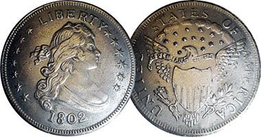 Us Fake Silver Dollar Counterfeit 1799 To 1804