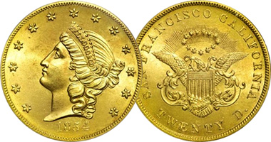 1854 20 Dollar Gold Coin Copy New Dollar Wallpaper Hd