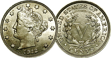 Coin Value Us Liberty Head V Nickel 1883 To 1913