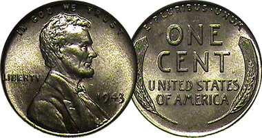 Coin Value: US Lincoln Cent Steel (Steel Penny) 1943