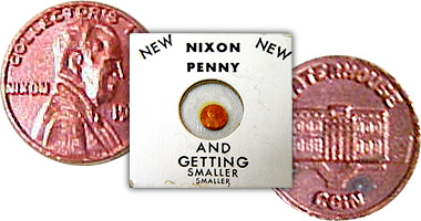 Coin Value: US Nixon Penny 1974