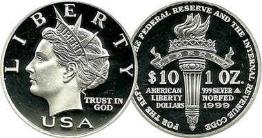 Us Norfed Bullion Coins 2000 To 2006