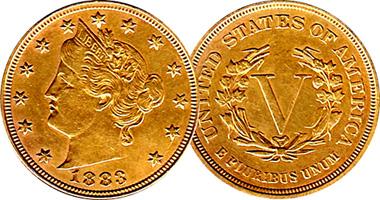 Coin Value Us Racketeer Nickel 1883