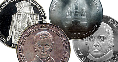 Coin Value Venezuela 100 Bolivares