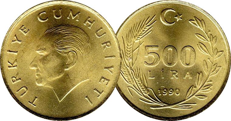 Turkey 1 5 10 20 25 50 100 And