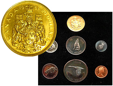 canadian silver coins  canada gold