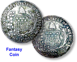 Coin Value: US Confederate Half Dollar (Fakes are possible) 1861