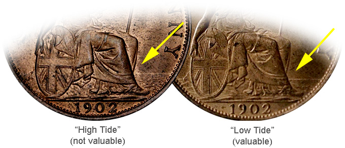 Coin Value: Great Britain Penny and Half Penny 1902 to 1910