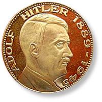 Coin Value Germany Hitler Modern 1945